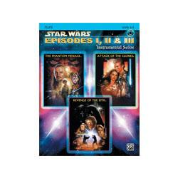 Image for Star Wars Episodes I II and III for Flute (Book and CD) from SamAsh