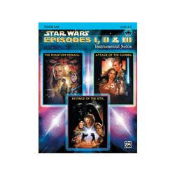 Image for Star Wars Episodes I II and III for Tenor Saxophone (Book and CD) from SamAsh