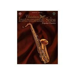 Image for Christmas Instrumental Solos Popular Classics for Tenor Saxophone (Book and CD) from SamAsh