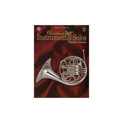 Image for Christmas Instrumental Solos Popular Classics for F Instruments (Book and CD) from SamAsh