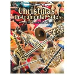 Image for Christmas Instrumental Solos Level 2-3 Book & CD (Clarinet) from SamAsh