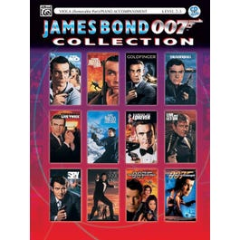 Image for The James Bond 007 Collection Book & CD-Viola (with Piano Acc.) Book & CD from SamAsh