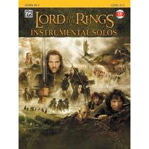 Alfred Lord Of The Rings Instrumental Solos -French Horn-Book & CD
