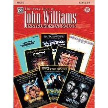 Image for The Very Best of John Williams -Flute-Book & CD from SamAsh