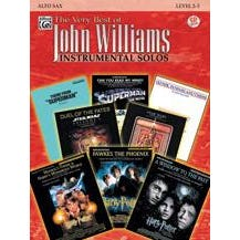 Image for The Very Best of John Williams -Alto Sax-Book & CD from SamAsh