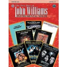 Alfred The Very Best of John Williams -Tenor Sax-Book & CD