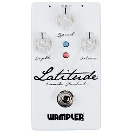Wampler Latitude Standard Tremolo Guitar Effects Pedal