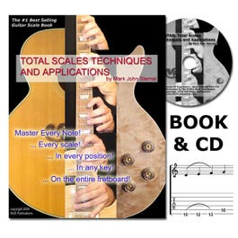 Image for Total Scales Techniques And Applications for Guitar (Book and CD) from SamAsh
