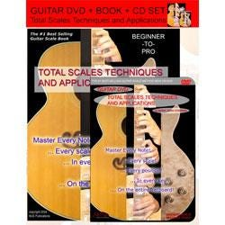 Image for Total Scales Techniques and Applications (Book/CD/DVD SET) from SamAsh
