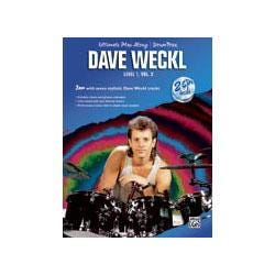 Image for Ultimate Play Along Drum Trax Dave Weckl Level 1 Volume 2 (Book and 2 CDs) from SamAsh
