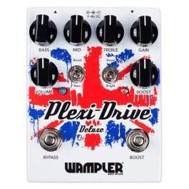 Wampler Plexi-Drive Deluxe British Overdrive Guitar Effect Pedal