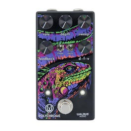 Image for Polychrome Analog Flanger Guitar Effect Pedal from Sam Ash