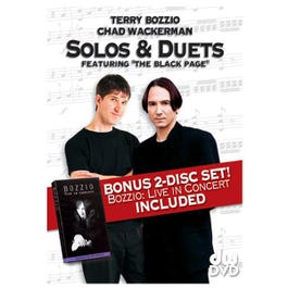 Image for Solos and Duets: Terry Bozzio and Chad Wackerman Live In Concert from SamAsh