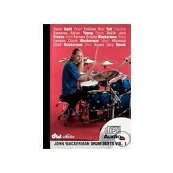 Image for DW Drum Duets Vol 1 John Wackerman (Audio CD) from SamAsh