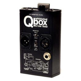 Image for Qbox REV 2 Mic and Line Tester from SamAsh