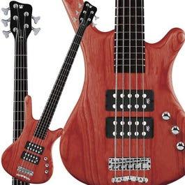 Image for Rock Bass Corvette $$ 5-String Bass Guitar from SamAsh