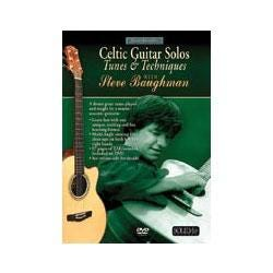 Image for Acoustic Masterclass Series: Celtic Guitar Solos (Tunes & Techniques) Guitar DVD from SamAsh