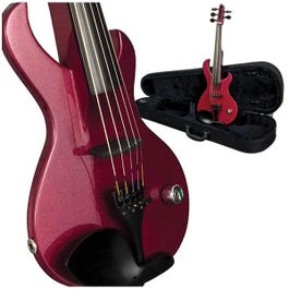 Image for Sabre 5 String Electric Violin (Red Pearl) from SamAsh