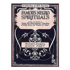 Image for Famous Negro Spirituals (P/V/G) from SamAsh