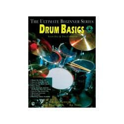 Image for Ultimate Beginner Series: Drum Basics Steps One & Two Combined Book & CD from SamAsh