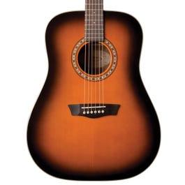 Image for Harvest D7SATB Acoustic Guitar from SamAsh