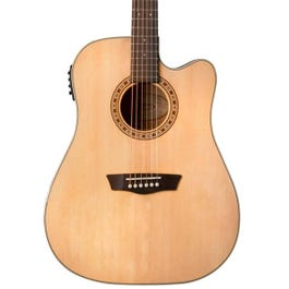 Image for WD7SCE Harvest 7 Series Cutaway Dreadnought Acoustic-Electric Guitar from SamAsh