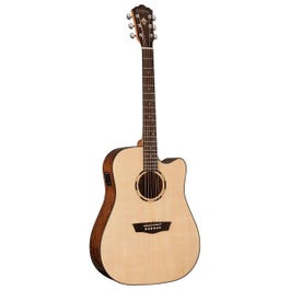 Image for Woodline Dreadnought WLD10SCE Acoustic Electric Guitar from SamAsh