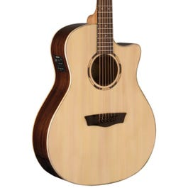 Image for Woodline 20 Series WLO20SCE Acoustic-Electric Guitar from SamAsh