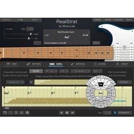 Music Lab Real Strat Virtual Instrument Plug In (Digital Download Version)