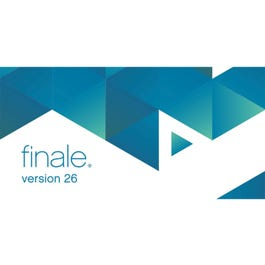 Image for Finale v26 (Digital Download Trade Up From Print Music