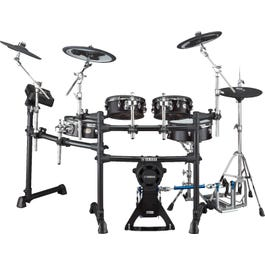 Yamaha DTX8K-M Electronic Drum Set w/Mesh Pads, Black Forest