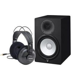 Image for HS8 Active Monitors (Pair) & Samson Headphone Bundle from SamAsh