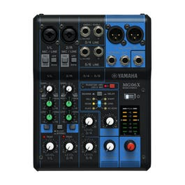 Image for MG06X 6 Channel Mixer with SPX Effects from SamAsh