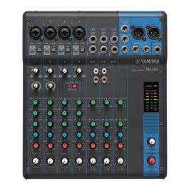 Image for MG10 10 Channel Mixer from SamAsh