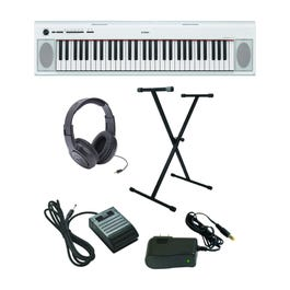 Image for Piaggero NP-12 Ultra-Premium Keyboard Package with Headphones