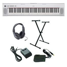 Image for Piaggero NP-32 Ultra-Premium Keyboard Package with Headphones