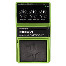 Nobels ODR-1 BC Overdrive Effect Pedal with Bass Cut