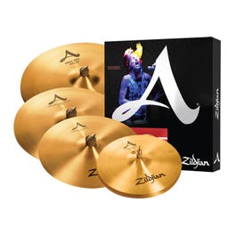 """Image for A Series A391 Cymbal Set with Free 18"""" Crash from SamAsh"""