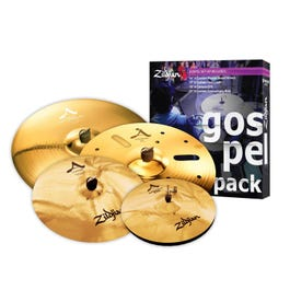 Zildjian A Custom Series Gospel Pack - Brilliant