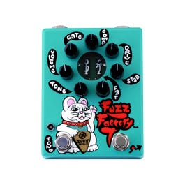 Image for Hand Painted Fuzz Factory 7 Guitar Effect Pedal from SamAsh