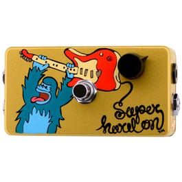 ZVex Effects Hand-Painted Super Hard On Boost Guitar Effects Pedal