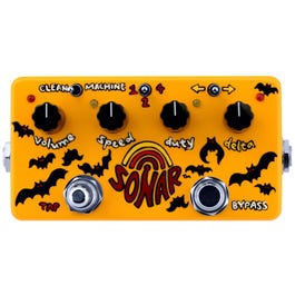 ZVex Effects Hand Painted Sonar Tremolo Pedal
