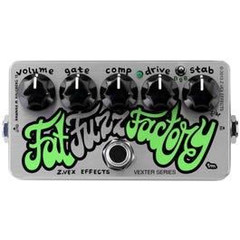 ZVex Effects Vexter Fat Fuzz Factory Guitar Effects Pedal