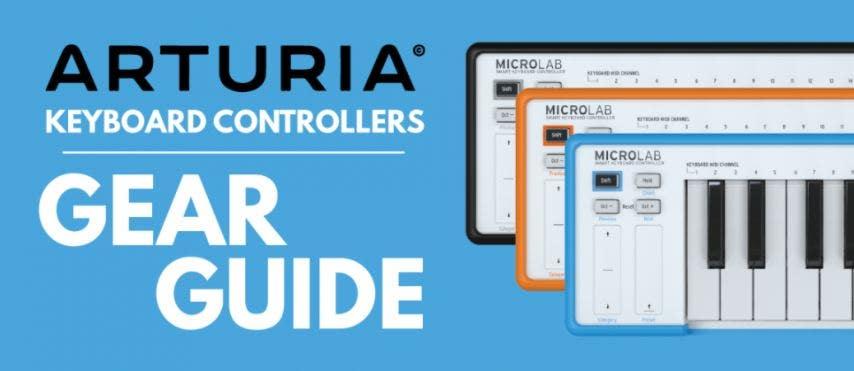 Arturia Keyboard Controllers: Gear Guide