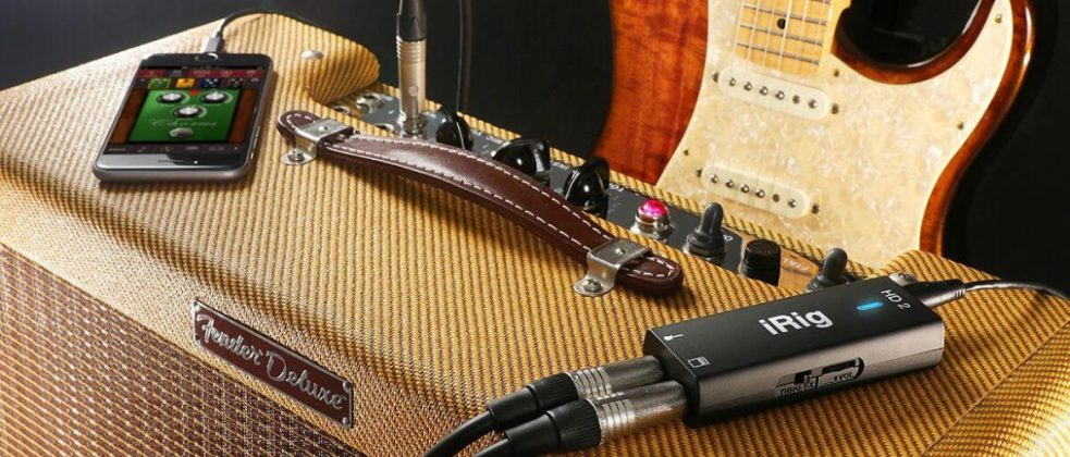 IK Multimedia iRig Guitar Smartphone Interfaces: Gear Guide