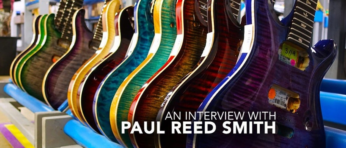 An Interview With Paul Reed Smith
