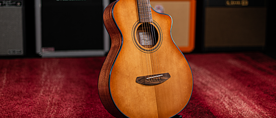 Breedlove Signature Concertina Copper CE Acoustic-Electric Guitar #MoodLiftMonday Giveaway