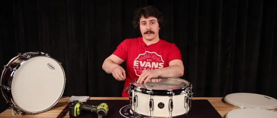 How to Change and Tune a Snare Drum Head
