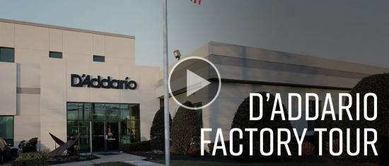D'Addario Factory Tour