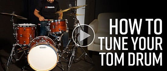 How To Tune Your Tom Drum